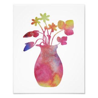 Impression Photo Un vase à fleur