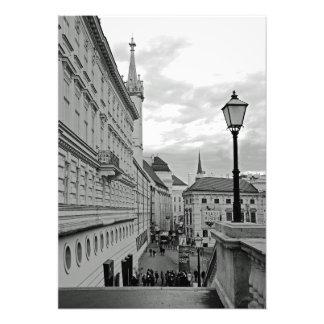Impression Photo Veine. Vue d'Albertplatz