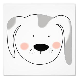 Impression Photo Visage de chien