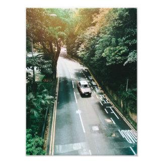 Impression Photo Voiture de Hong Kong