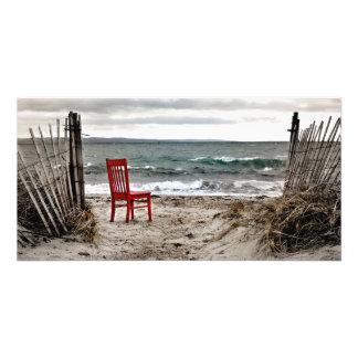 Impression Photo Voyages rouges de chaise