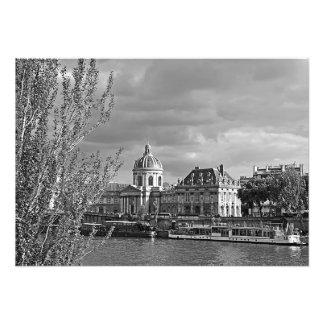 Impression Photo Vue du Louvre des banques de la Seine
