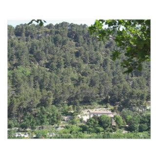 Impression Photo Vue sur la vallée de Venasque