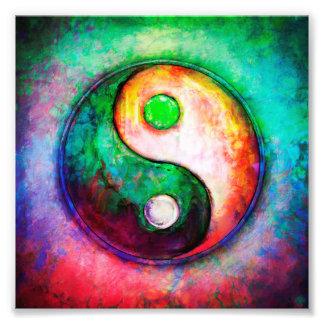 Impression Photo Yin Yang - Colorful Painting II