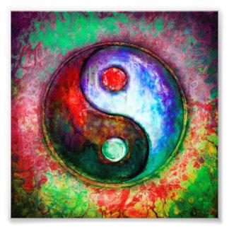 Impression Photo Yin Yang - Colorful Painting III