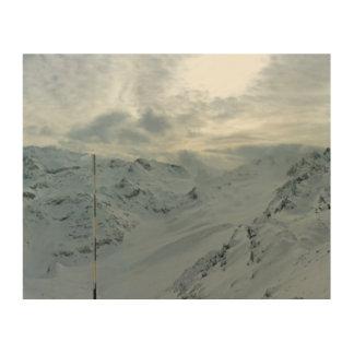 Impression Sur Bois Alpes français