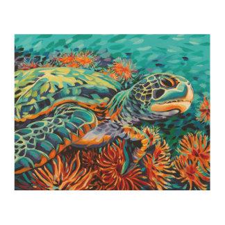 Impression Sur Bois Amoureux de mer I