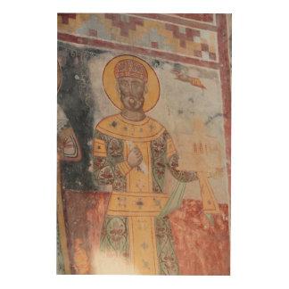 Impression Sur Bois Anchient Artwrok religieux
