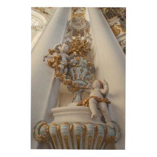 Impression Sur Bois Anges dans l'église de Wieskirche