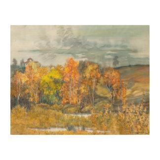 Impression Sur Bois automne 300