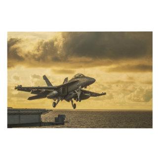 Impression Sur Bois Avion de chasse de vibreur d'Ea18g lançant outre