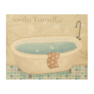 Impression Sur Bois Bath de mosaïque