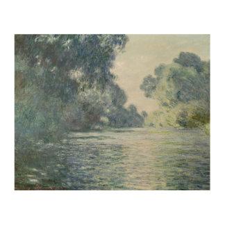 Impression Sur Bois Branche de Claude Monet | de la Seine près de