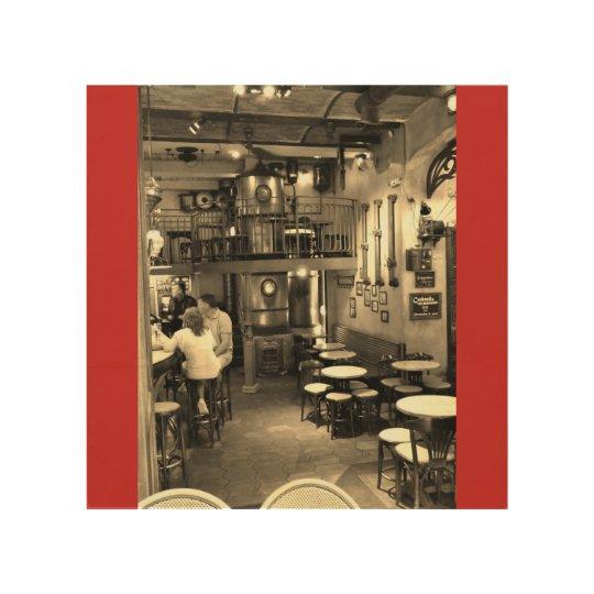 Impression Sur Bois Brasserie
