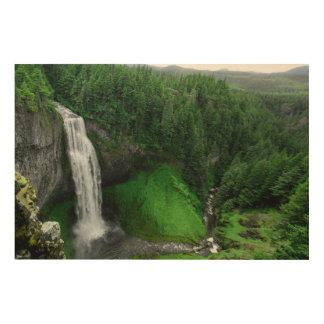 Impression Sur Bois Cascade