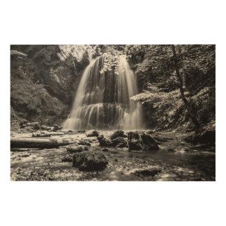 Impression Sur Bois Cascade de Josefsthaler