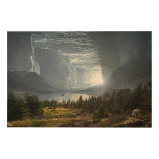 Impression Sur Bois Caverne d'imaginaire