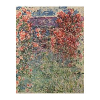 Impression Sur Bois Chambre de Claude Monet | chez Giverny sous les