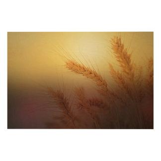 Impression Sur Bois Champ de blé