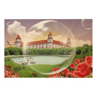 Impression Sur Bois Château de Bratislava