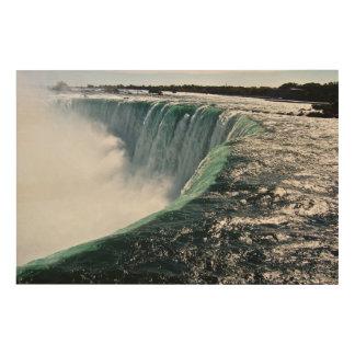 Impression Sur Bois Chutes du Niagara