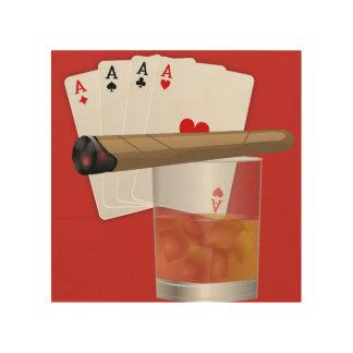 Impression Sur Bois cigarette
