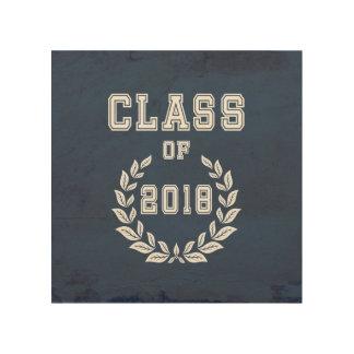 Impression Sur Bois Classe de 2018