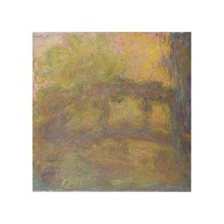 Impression Sur Bois Claude Monet | le pont japonais, 1918-24