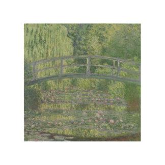 Impression Sur Bois Claude Monet | l'étang de nénuphar : Harmonie