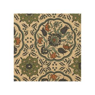 Impression Sur Bois Conception persane florale décorative de tuile