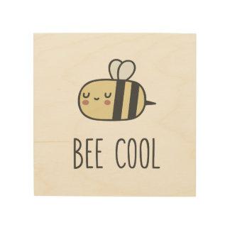 Impression Sur Bois Cool d'abeille