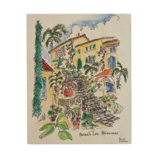 Impression Sur Bois D'azur des Bormes-les-Mimosas |