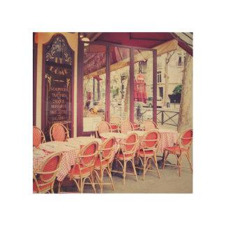 Impression Sur Bois Diner dans le fresque d'Al de Paris