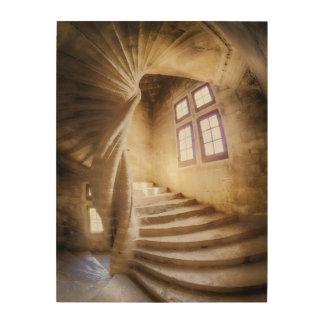 Impression Sur Bois Escalier beige de spirl, France