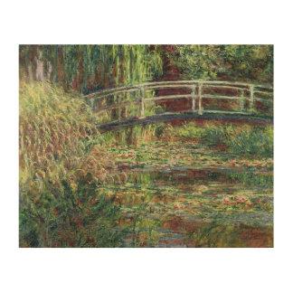 Impression Sur Bois Étang de nénuphar de Claude Monet | : Harmony
