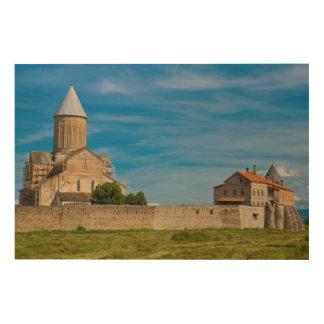 Impression Sur Bois Extérieur antique de monastère