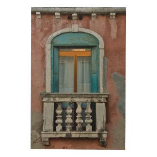 Impression Sur Bois Fenêtre à Venise