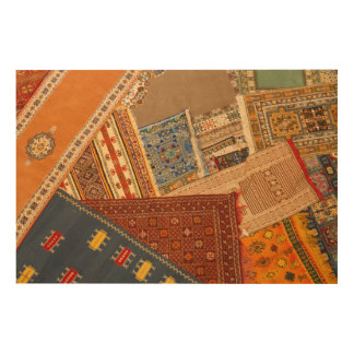 Impression Sur Bois Fin de collage de tapis