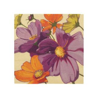 Impression Sur Bois Fleurs décoratives