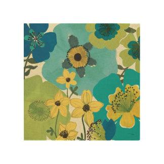 Impression Sur Bois Fleurs décoratives de jardin