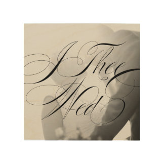 Impression Sur Bois I Thee épousent l'art en bois l'épousant de mur de