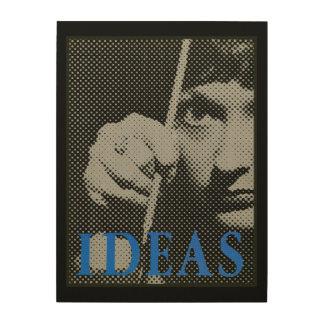 Impression Sur Bois Idées - graphique 1981 de promo