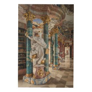 Impression Sur Bois Intérieur de bibliothèque de Rococo-Style