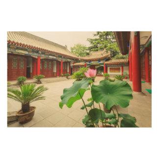 Impression Sur Bois Intérieur de pagoda de la Chine