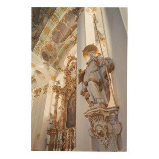 Impression Sur Bois Intérieur rococo bavarois d'église