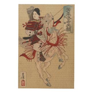 Impression Sur Bois Japonais Ukiyo-e Hangakujo par Yoshitoshi