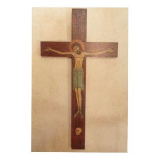 Impression Sur Bois Jésus sur l'art croisé