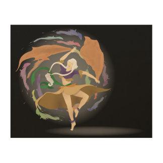 Impression Sur Bois La danse de la sorcière