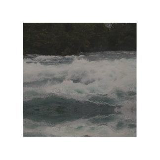 Impression Sur Bois Les eaux furieuses du Niagara !