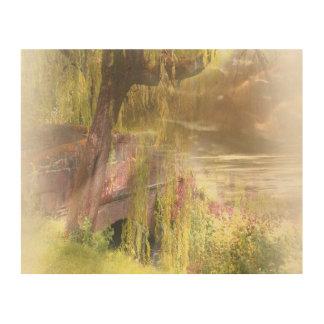 Impression Sur Bois L'Été-Automne de l'Ecosse